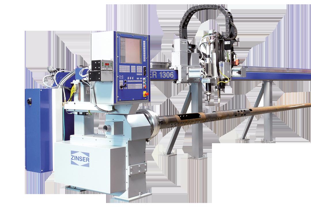 CNC PIPE CUTTING MACHINE ZINSER 1304 / 1306
